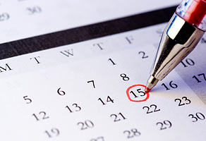 mark-calendar