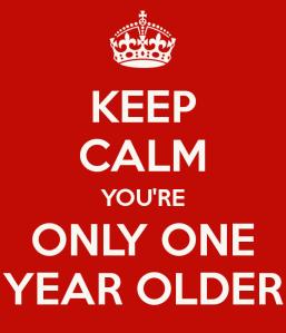 year older